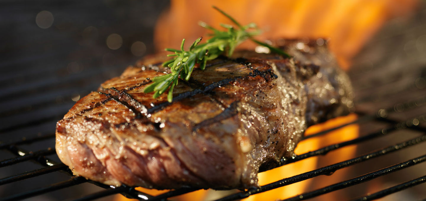 Flame Grilled Steaks